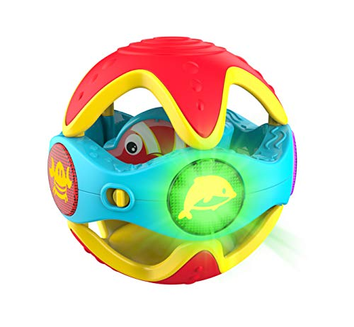 Infinifun Peek-a-Boo Rattle Ball