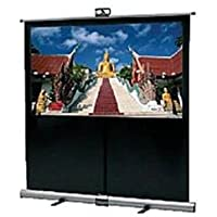 Da-Lite Theater-Lite Portable and Tripod Projection Screen - 39 x 70 - Wide Power - 80 Diagonal (Certified Refurbished)
