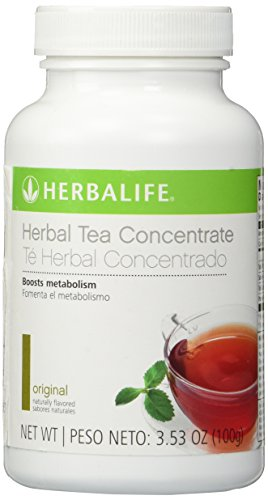 HERBALIFE HERBAL TEA CONCENTRATE - ORIGINAL FLAVOR 3.53 OZ (Green Tea Lemon Honey Cinnamon Weight Loss)