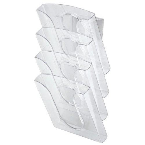 Leitz 54000002 Presentation Set of Document Holders A4 Polystyrene Transparent