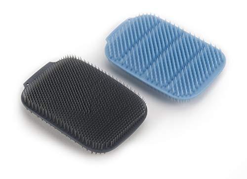 Joseph Joseph CleanTech Reusable Sponge Scrubbers Hygienic Quick-Dry, 2-Pack, Blue, 2 Count