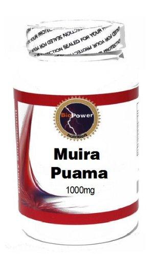 Muira Puama 1000mg 100 Capsules # BioPower Nutrition