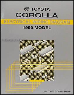 1999 toyota corolla wiring diagram manual original toyota amazon rh amazon com