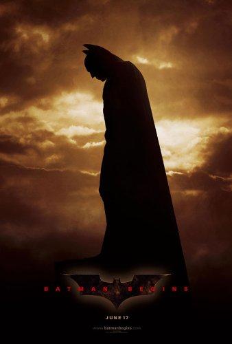 Cartel de la película 1 cara BATMAN BEGINS ORIGINAL 27 x 40 ...