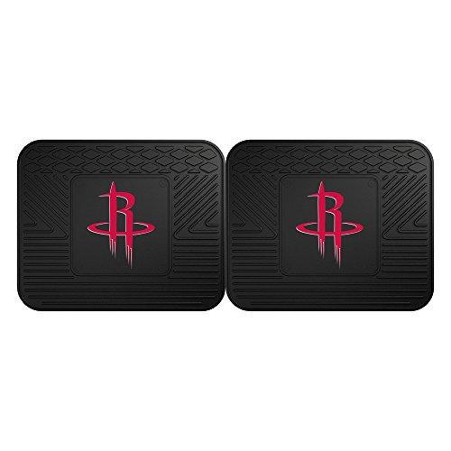 FANMATS NBA Houston Rockets Vinyl 2-Pack Utility Mats