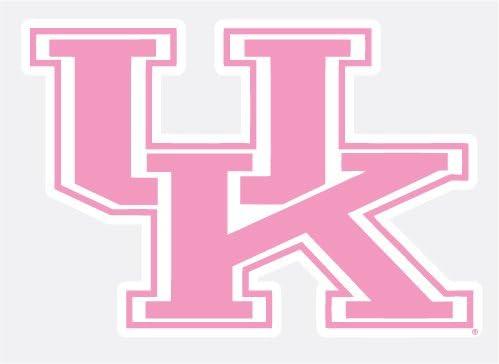 University of Kentucky Wildcats PINK UK Logo 4 Vinyl Decal UK Car Truck Window Sticker