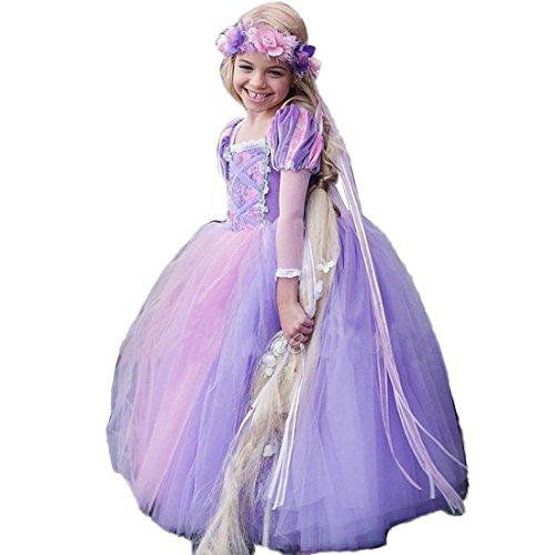 31d1b5cd1ddfd ドレス 子供 シンデレラ風 コスチューム 子供服 ロングドレス ワンピース ディズニープリンセス キッズコスチューム ハロウィン コスプレ