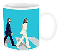 Vandor The Beatles Abbey Road 12 Ounce Ceramic Mug (72061)