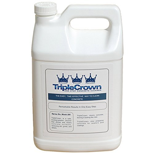 Triple Crown Concrete Pool Deck Cleaner - 1 (Water Base Pool Paint)