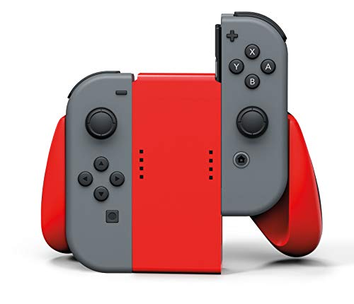 PowerA Joy Con Comfort Grips for Nintendo Switch - Red 1
