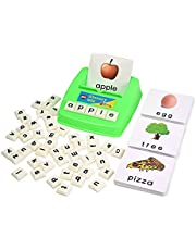 BOHS Literacy Wiz Fun Game - Sight Words - 60 Flash Cards - Preschooler Language Learning Educational Toys
