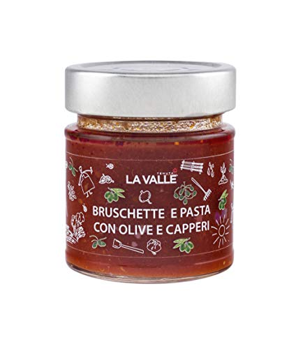 Bruschette en pasta, met olijven en capsules, houdt de val, 190 g, verpakking van 6 stuks