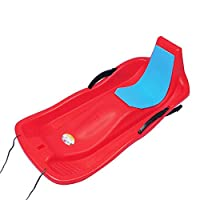 Kids & Adults Winter Skiing Board Toy Portable Toboggan Safe Snow Sled Kids Sledge