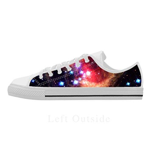 Cheese Geschenk des Dankes Galaxie Schuhe Herren-Mode personalisierte Leder von Adler, Größe: 43EU