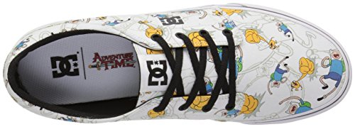 DC Men's Trase x At Skateboarding Shoe, Black/Multi, 11 M US