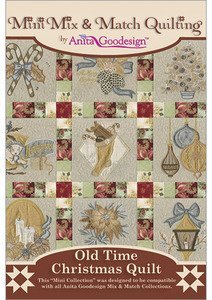 Anita Goodesign Embroidery Designs Olde Time Christmas Quilt