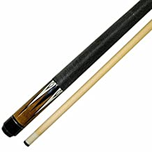 "Iszy Billiards BND-01-42""-17 Short 42-Inch 2 Piece Hardwood Maple Pool Cue Billiard Stick, 17 oz, Brown"