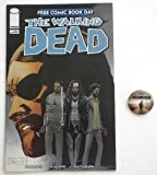 Free Comic Book Day The Walking Dead + San Diego Comic Con Button NM