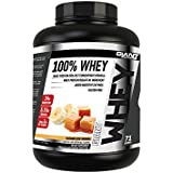 Giant Sports 100% Whey Protein, Caramelized Banana 5 Pounds, Gluten Free, with added Digestive Enzymes