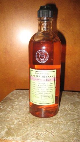 Bath Body Works Aromatherapy Sandalwood Rose Stress Relieving Relax Body Wash 10 oz