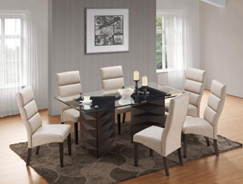 Kings Brand Furniture - 7 Piece Emerson