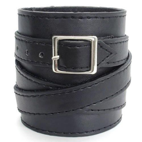 KONOV Genuine Leather Bangle Bracelet
