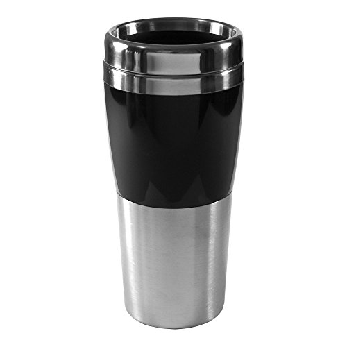 Liquid Logic Synergy: Double Wall Stainless Steel Tumbler with Acrylic Accent and Stainless Slider Lid, 14 oz, ()