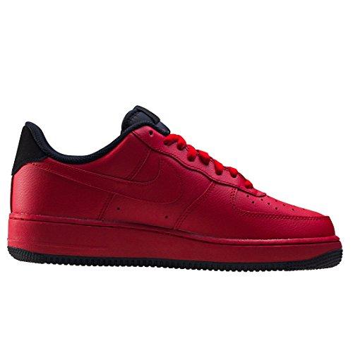Nike - Nike Air Force 1 '07 Leather Red - 315122 613 - EU 45 - US 11 - UK 10 - CM 29