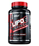 NUTREX LIPO-6 Black 120 Caps (DMAA-FREE) Extreme Fat Destroyer