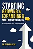 Starting, Growing, and Expanding Your Small Business Globally: A Guide for the Small Business Owner