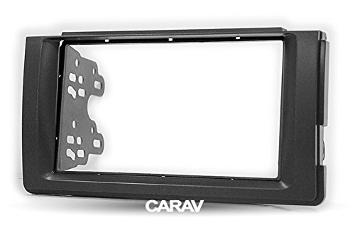 Carav 11-723 Car Stereo Radio installation frame Double Din in Dash Facia Fascia Kit for BAIC Weiwang M20 2013+ with 17398mm/178100mm/178102mm by CARAV