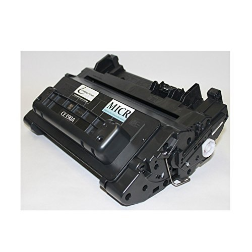 IP EcoPlus HP CE390A / 90A MICR Toner Cartridge for Check Printing Compatible with HP LaserJet Enterprise 600 Series [10,000 Page-Yield] (Series Yield Page 10000)