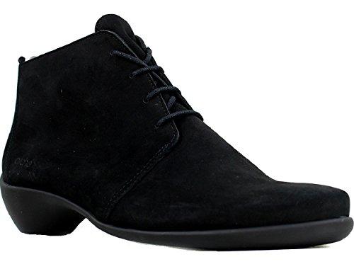 Arche Tessam Noir Nubuck Klack Boot, Storlek 38 Eu