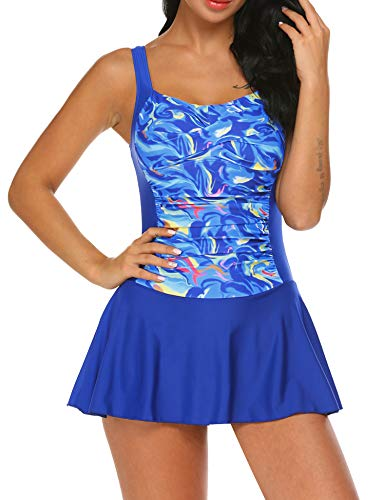 Ekouaer Swim Dress One