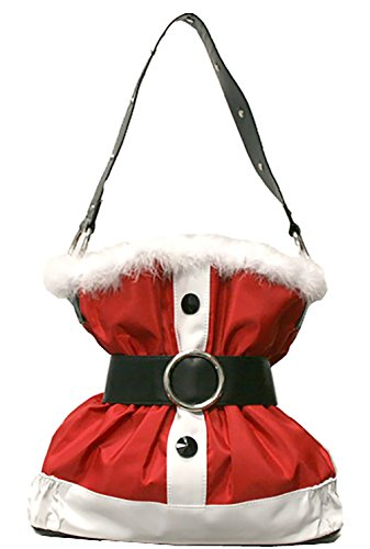 Santa Claus Suit Merry Christmas Handbag Purse Christmas Purse