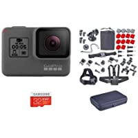 GoPro HERO5 Black - Bundle with Froggi Extreme Sport Kit, and 32GB Memory Card