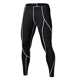 LNJLVI Boys & Girls Compression Pants Sports Base Layer Legging/Tights