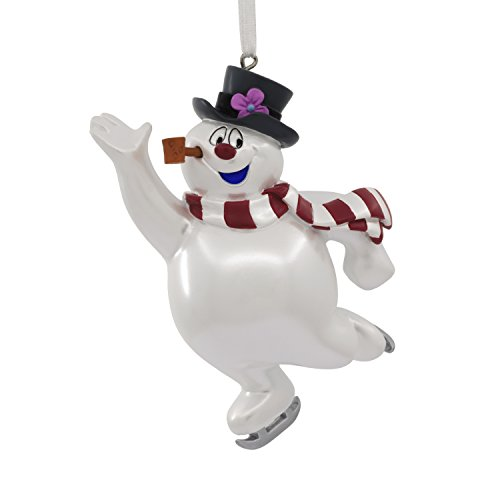 Hallmark Frosty the Snowman Skating Christmas Ornament (Snowman Ornament Collection)