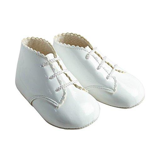 Earlydays Baypods - Zapatos primeros pasos para niña Blanco - blanco (White Patent)
