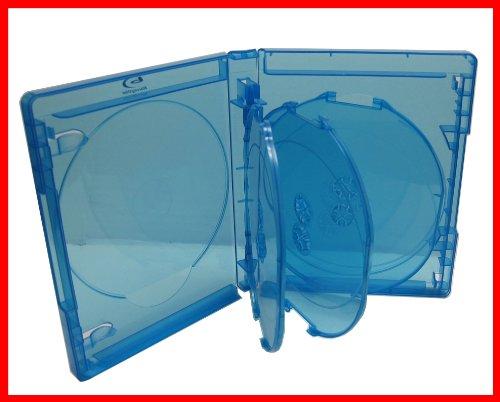 2 Pk Blu-ray Multi Case 7 Tray (Holds 7 Discs) Viva Elite (Pack of 2)