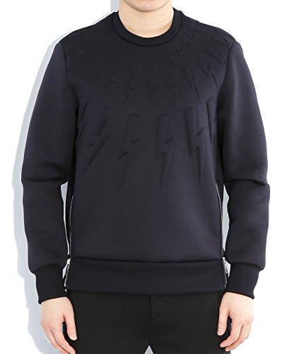wiberlux-neil-barrett-mens-embossed-thunder-sweatshirt-side-zipper-l-navy