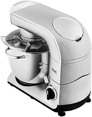 Krups ka402d Robot de cocina, 5,5 L, 1200 W, incluye accesorios, acero inoxidable): Amazon.es: Hogar