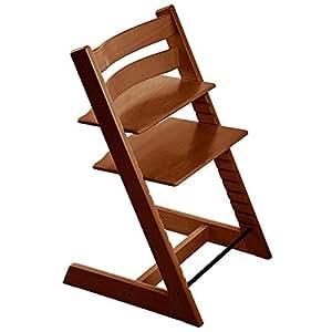 Stokke tripp trapp chair walnut no harness no extended for Stokke tripp trapp amazon