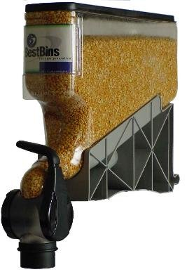 The Best Bins, 4-Gallon Gravity Bin Dispenser, 16'' x 18'', 8 oz. Portion Control by The Best Bins