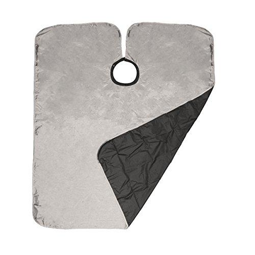 Betty Dain Reversi Reversible Coloring / Styling Cape, Silver / Black