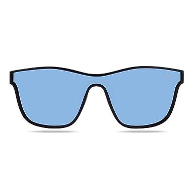 Hanukeii Gafas de Sol Espejo Mavericks Mujer, Hombre Color ...