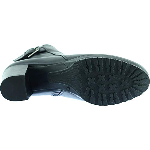 T Noir Mode C Boots Noir Femmes Cuir Petites Pointures Chaussures Crantée TERANOVAS Marque Bottines Semelle PLUMERS 40 Et Plateforme T6B0TxZ