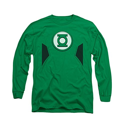 New Green Lantern Costumes Tshirt (Green Lantern New GL Costume Long Sleeve T-Shirt)