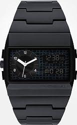 Vestal Metal Monte Carlo Watch Brushed Black/Black/Black, One Size, One Size