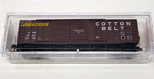 Belt 50' Rib Side Box Car With Double Door Without Roofwalk 30060 Toy Model Train (Cotton Micro Rib)